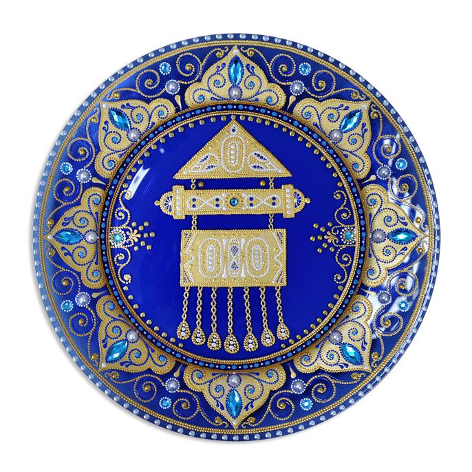d2287dc5f659 Магазин подарков и сувениров в Астане Keruen Souvenirs » Тарелка «Тумар»